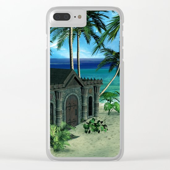 The  forgotten island Clear iPhone Case
