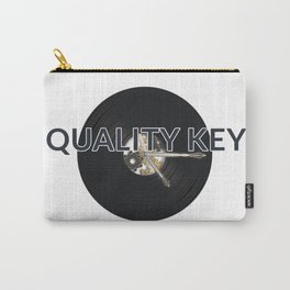Quality Key: Vinyl Time Carry-All Pouch