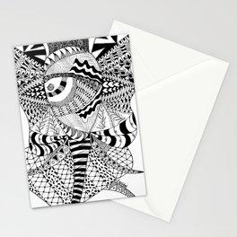 Elephant Butterfly Stationery Cards