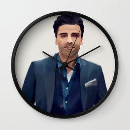 Oscar Isaac 10 Wall Clock