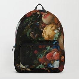 Antique Botanical IV [antique painting remixed] Backpack