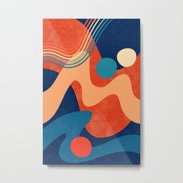 Waves 04 Metal Print