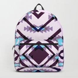 Ultraviolet ethnic pattern Backpack