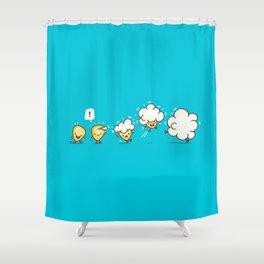 Microwavolution Shower Curtain
