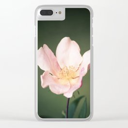 October flower Clear iPhone Case
