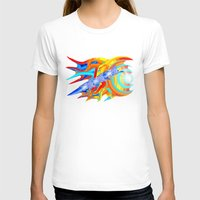 ducks T-shirts featuring liquid ducks by JT Digital Art