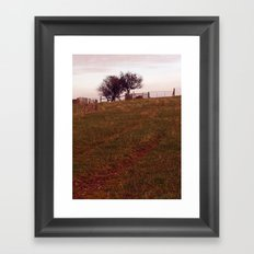 Field Head Framed Art Print