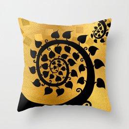 Bodhi Tree0601 Throw Pillow
