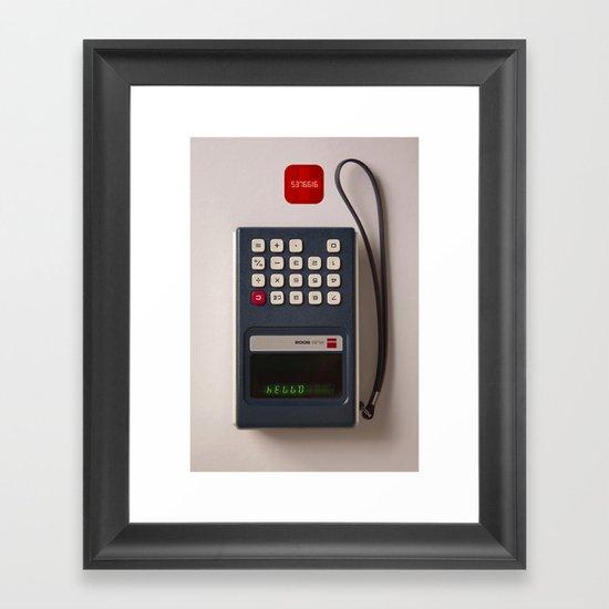 0.7734 Framed Art Print