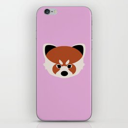 Red Panda iPhone Skin