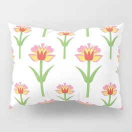 Papercut Florals Pillow Sham