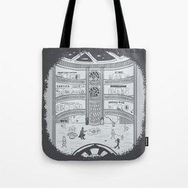Darth Mall Tote Bag