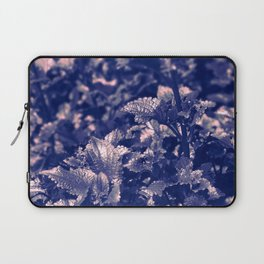 Soft Leaves in Blue/ Cheekwood Gardens Laptop Sleeve