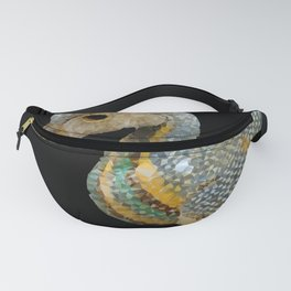 Ancient Egyptian Duck Low Poly Geometric Art Fanny Pack