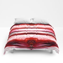 Different Realms (red) Comforters