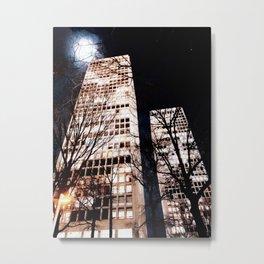 """""""Towers"""" Metal Print"""