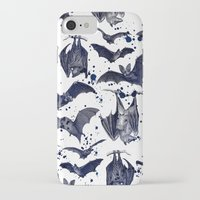 bats iPhone & iPod Cases featuring BATS by DIVIDUS