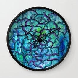 Blooming Soul Wall Clock