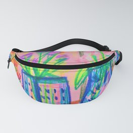 Flowers at Dawn Fanny Pack
