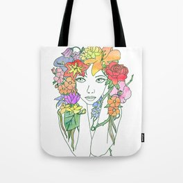 Beauty in Bloom - Lined Tote Bag