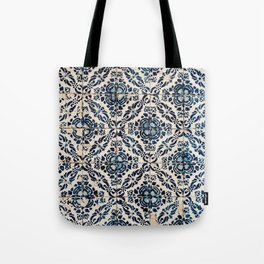 Azulejo IX - Portuguese hand painted tiles Tote Bag
