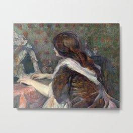 Henri de Toulouse-Lautrec - Madame Poupoule Metal Print