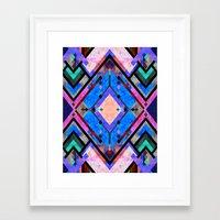tarot Framed Art Prints featuring Tarot 1A by Schatzi Brown