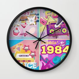 Retro Funk Series Wall Clock