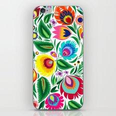folk grassland iPhone & iPod Skin