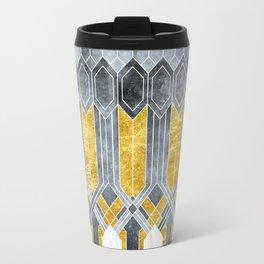 Turtle Shell Geometric | Art Deco Travel Mug
