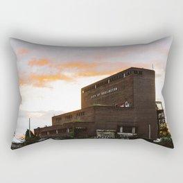 City of Burlington Rectangular Pillow
