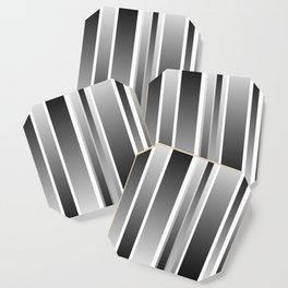 Color Black gray Coaster