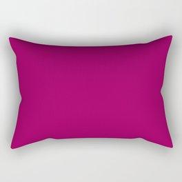 Happy Place Matching Dark Pink Rectangular Pillow