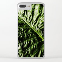 Rib And Veins Clear iPhone Case