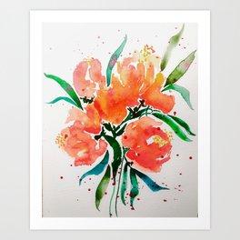 """I Love a Good, Poppy Chorus"" Art Print"