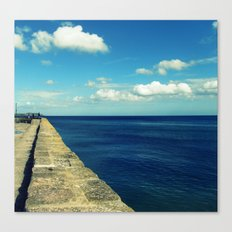 Carlyon Bay Canvas Print
