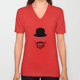 The Scruffy Gentleman Unisex V-Neck