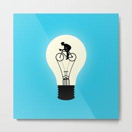 Idea Power Metal Print