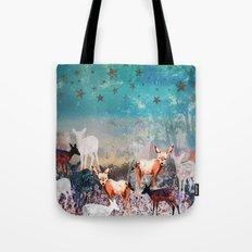Deer Enchanted Forest  Tote Bag