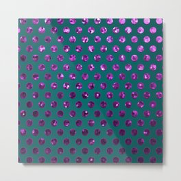 Polkadots Jewels G195 Metal Print
