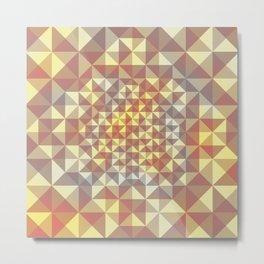 pattern series 070 Metal Print