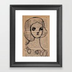 Mari Framed Art Print