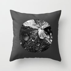water drops XVII Throw Pillow