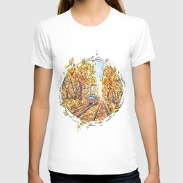 Road to autumn ~ T-shirt