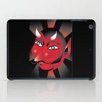 demon iPad Cases featuring Demon by riomarcos