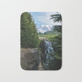 View from Paradise Bath Mat