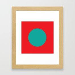 pojnt Framed Art Print