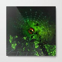 GREEN STONE Metal Print