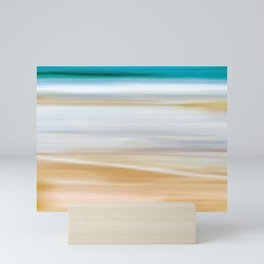 Abstract Beachscape Mini Art Print