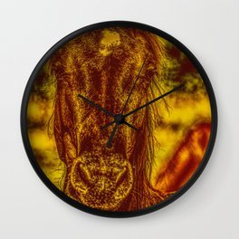 Horsepower Wall Clock